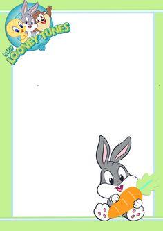 Gifs y Fondos PazenlaTormenta: MARCOS PARA FOTOS INFANTILES Disney And More, Disney Fun, Baby Disney, Preschool Color Activities, Printable Frames, Free Printable, Baby Looney Tunes, Baby Bug, Project Life Cards