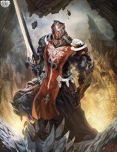 Artist: Ham Sung Chul aka BraveKing (Majorsstudio) - Title: Unknown - Card: Duroch, Celestial Soldier