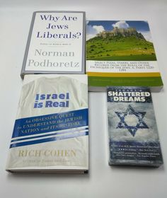 Israel Is Real and Lot of 2 Other Books and 1 VHS tape about Israel and Judaism