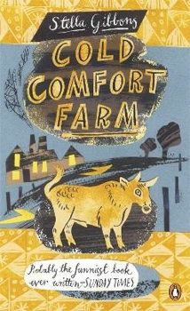 Buy Cold Comfort Farm by Stella Gibbons at Mighty Ape NZ. A hilarious and merciless parody of rural melodramas and one of the best-loved comic novels of all time, Cold Comfort Farm by Stella Gibbons is beauti. Good Books, Books To Read, My Books, Book Cover Design, Book Design, Cold Comfort Farm, Stella Gibbons, Magazin Covers, Book Challenge