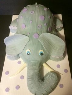 Elephant for a baby shower :)