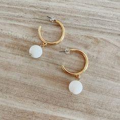Ophelia Hoop Earrings (1)sm Hoop Earrings, Personalized Items, Jewelry, Jewlery, Jewerly, Schmuck, Jewels, Jewelery, Fine Jewelry