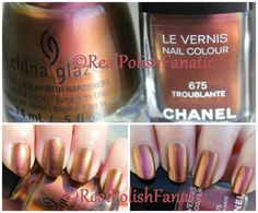 Nail Polish Battle: Chanel Troublante vs. China Glaze Cabin Fever – RealPolishFanatic