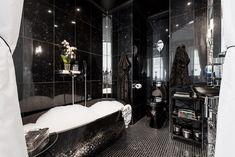 Yksiön ylellinen kylpyhuone Spa, Clawfoot Bathtub, Helsinki, Bathroom, Home, Clawfoot Tub Shower, Washroom, House, Bath Room