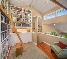 Bring Your Books If You Buy This $1.4M House in Magnolia - On The Market - Curbed Seattle