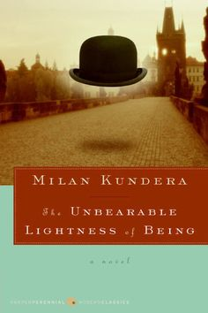 """The Unbearable Lightness of Being"" // ""L'insoutenable Légèreté de L'être"" // The best book by Milan Kundera, and one of my favorite books, if not the favorite. Books You Should Read, Books To Read, My Books, Reading Lists, Book Lists, Reading Habits, Milan Kundera, Fiction, Books For Teens"
