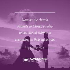 A godly marriage follows God's advice.