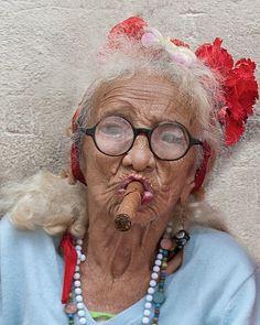 pinned from the Kodak Gallery app  Cuban lady