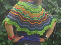 Ravelry: Watching the Waves pattern by Pamela Rappaport Crochet Shawl, Knit Crochet, Paper Lotus, Crescent Shape, Mexico Vacation, Wave Pattern, Ravelry, The Help, Knitting