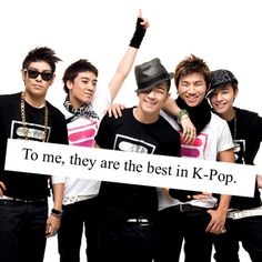 to me they are the best in k-pop