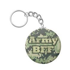 Army BFF Keychain