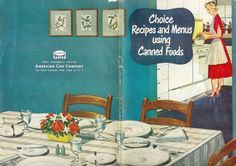 This quaint little cookbook is so precious. There is no copyright date on it, but the pictures are consistent with those of the late 1940s. There