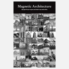 Magnetic Architecture now featured on Fab.