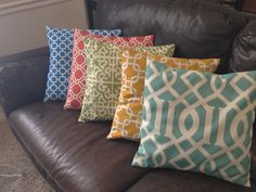 Two Parents and a Tiny Titus: Easy Pillow Cover Tutorial