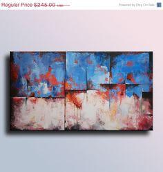 EN vente 354 Original peinture abstraite sur toile par itarts, $220.50