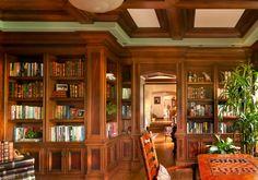 Kipp Residence - traditional - Home Office - Los Angeles - HartmanBaldwin Design/Build