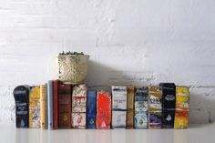 book bricks - these would make perfect bookends