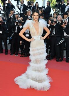 The 2018 Cannes Film Festival red carpet- HarpersBAZAARUK