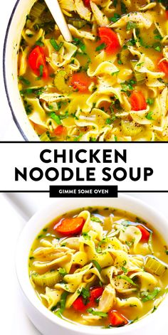 This homemade Herb-Loaded Chicken Noodle Soup recipe is kicked up a notch with loads of delicious, fresh Italian herbs. Easy Chicken Recipes, Soup Recipes, Healthy Chicken, Ic Recipes, Xmas Recipes, Dinner Recipes, Healthy Sweet Snacks, Dinner Healthy, Healthy Recipes