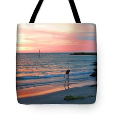 """""""Cotton Candy Skies"""" Tote Bag by Elyza Rodriguez. Sold by photographer for $28.99. Makes a great gift or buy one for yourself."""