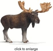 Schleich - Moose Bull - click to enlarge 1