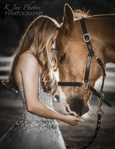 So glad she incorporated the horse into her senior portrait session. The bond between the two can be seen in this photo. For more examples of K Jay Photos ...
