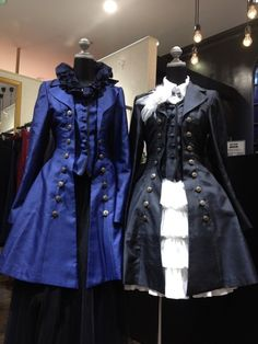 Gothic lolita coats ♥ These are badass!