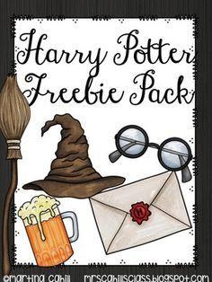 Harry Potter Freebie Pack