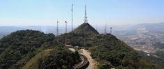 Pico do Jaraguá e a incrível vista panoramica da cidade. Foto: José Cordeiro/ SPTuris.