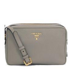 0b735ab454d2 Prada. Queen Bee of Beverly Hills. Prada Women s Gray Vtello Phenix Leather  ...