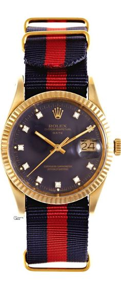 1982 Rolex 14K Yellow Gold Date With Factory Diamond Dial by CMT Fine Watch  and Jewelry Advisors  024c3654bab