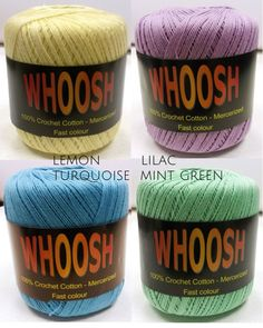 CROCHET YARN 100% Pu