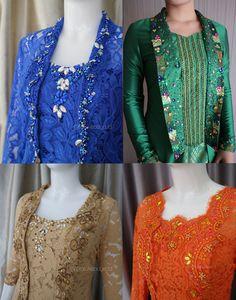 Kebaya Brokat, Dress Brokat, Kebaya Dress, Batik Kebaya, Pearl Embroidery, Pakistani Dresses, Beading, Blouse, Womens Fashion