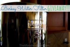 The Big Berkey Water Filter is Awesome!  {and a giveaway!}