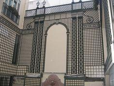 Pergola, Gazebo, Geometry Art, Metal Artwork, Facade Architecture, Back Doors, Andalusia, Back Gardens, Wall Treatments