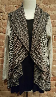 76e6cd935e Shawl Collar Cardigan Sweater – Two Funky Cousins