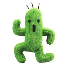 Final Fantasy 2016 Cactuar Cactus Square Enix Plush The Cactuar is a recurring enemy from the series as well as appearing as a summon. Cactuars are little cacti, typically depicted having stiff ar Final Fantasy Xv Wallpapers, Final Fantasy Xiv, Fantasy Series, Wallpaper Cars, Pet Toys, Kids Toys, Square Enix Games, Cactus, Birthday Goals