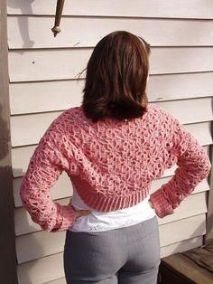 Ravelry: Crochet Spider Shrug pattern by Robyn Chachula