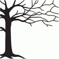 Tree Trunk Silhouette