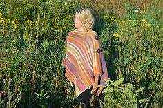 This Poncho is so much fun to make!!! Great for those cold days:)