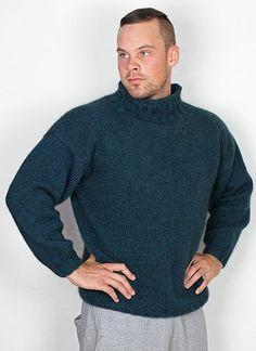 Sweater med ribkrave - Designs - Hjelholts Uldspinderi