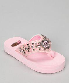 Pink Emma Sandal