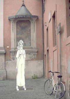 italian street sketch 3