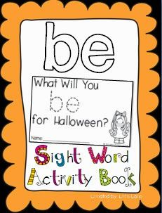 Halloween FREEBIE! These books are a FUN way to learn sight words!