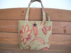 Handbag Purse Fabric Bag Accessories Women by creationsbyellyn