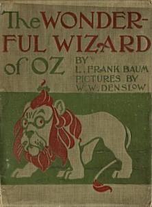 The wonderful wizard of oz books of wonder