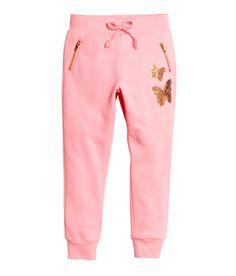 Joggers | Roze/vlinders | Kinderen | H&M NL