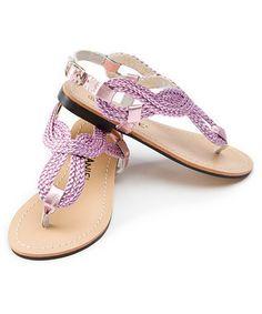 Roman sandals!