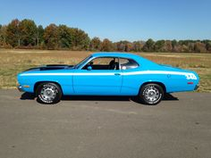 My 1972 Plymouth Duster 340 Old School Muscle Cars, Old Muscle Cars, Dodge Muscle Cars, American Muscle Cars, Driveway Repair, Asphalt Driveway, Plymouth Muscle Cars, Plymouth Duster, Chrysler Cars