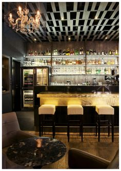 Explore 50 ultimate man cave bar ideas for men. From small budget corner bars to grand home basement bars that could serve every man in the neighborhood. Cafe Bar, Cafe Restaurant, Restaurant Design, Man Cave Garage, Garage Bar, Home Bar Rooms, Bar A Vin, Art Deco Bar, Bar Interior Design
